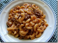 My Kids Favorite Hamburger Noodle Casserole