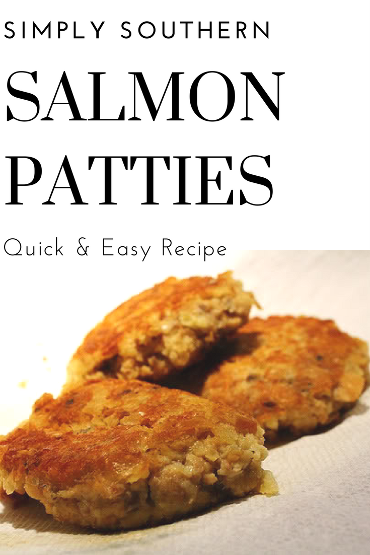 Easy Southern Salmon Patties