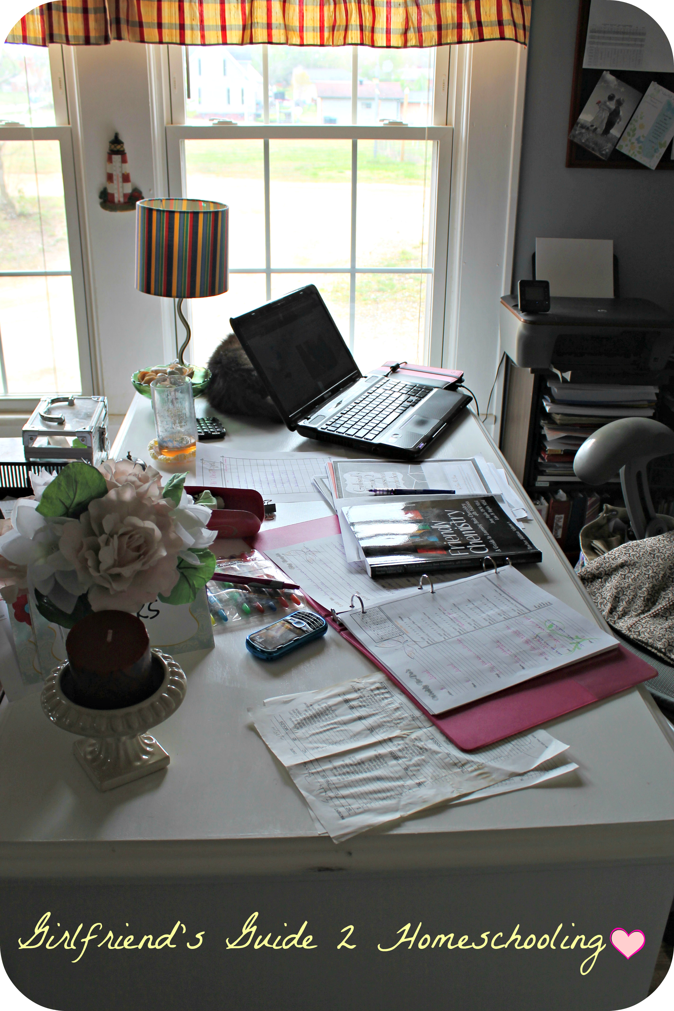 Homeschool Mom Desk