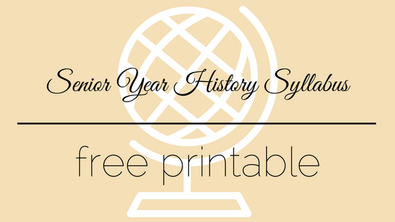 Free Printable History Syllabus