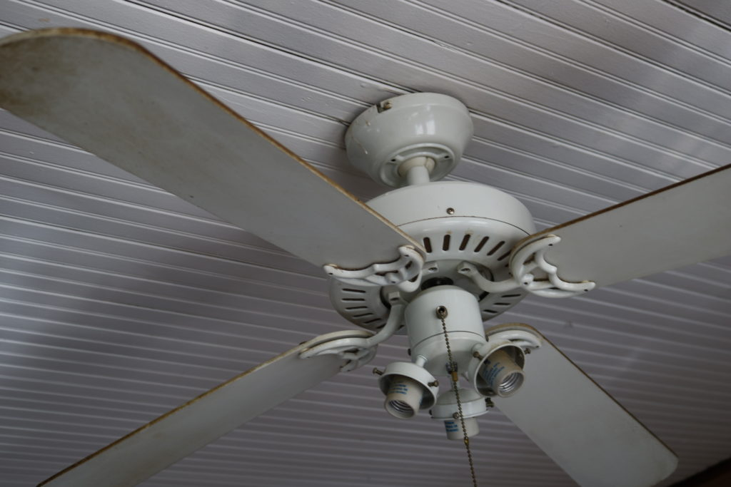 Spring Cleaning:  Ceilings, Ceiling Fans and Lights