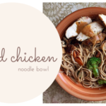 grilled chicken noodle bowl blog title