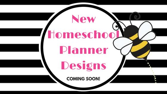 New Homeschool Planner Designs Coming Soon!