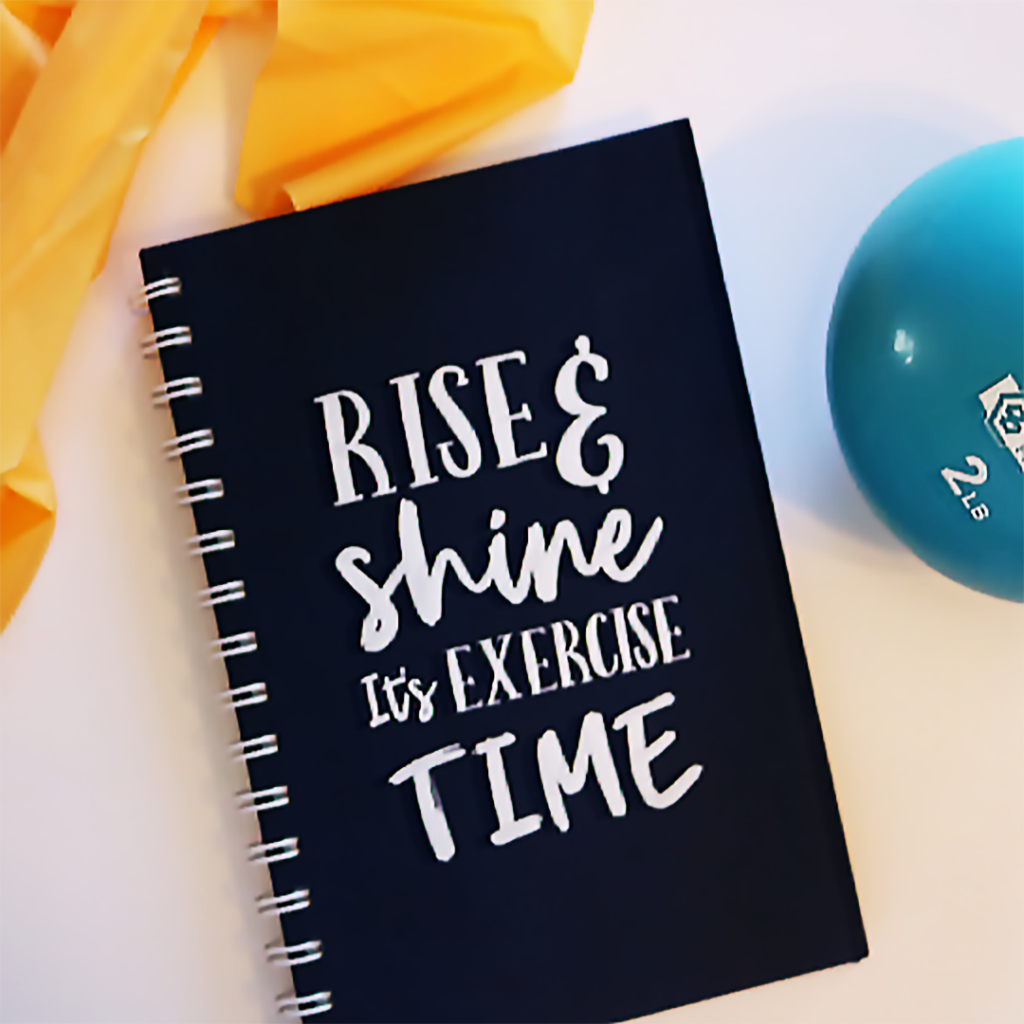 What I'm Currently Loving:  My Fitness Planner