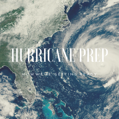 Hurricane Prep and a Free Checklist