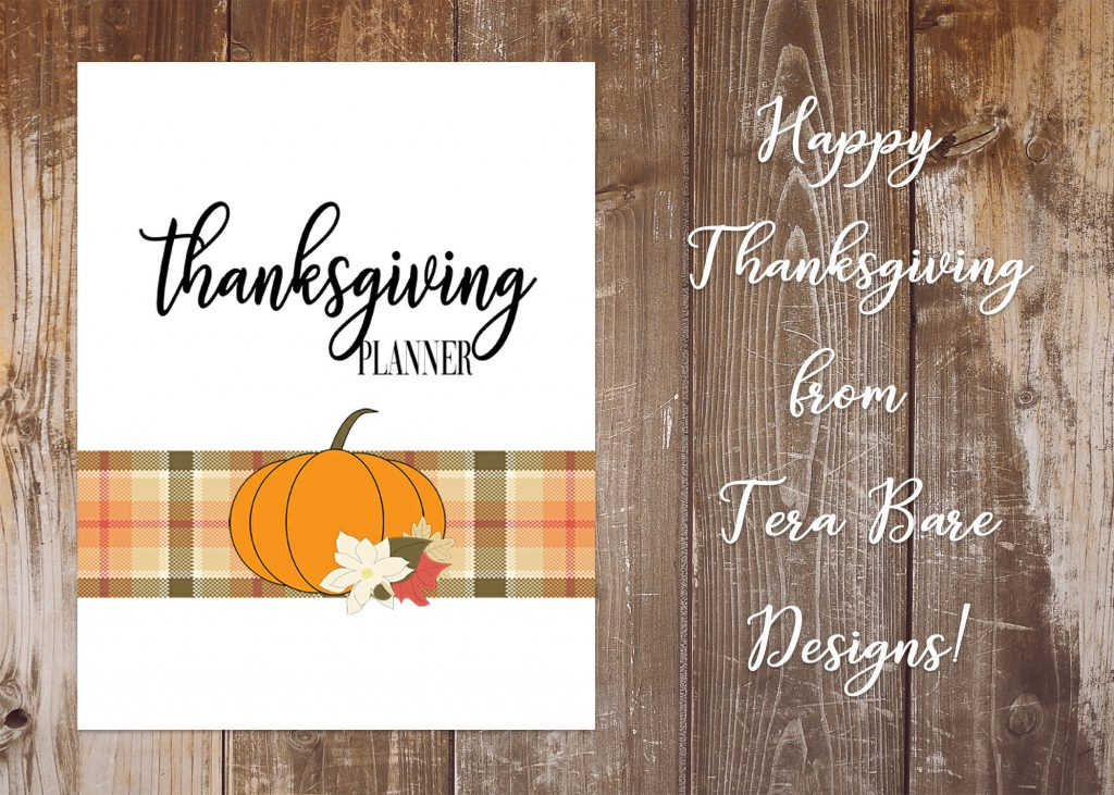 2018 Thanksgiving Planner Gorgeous Printable Thanksgiving Planner with Southern Charm