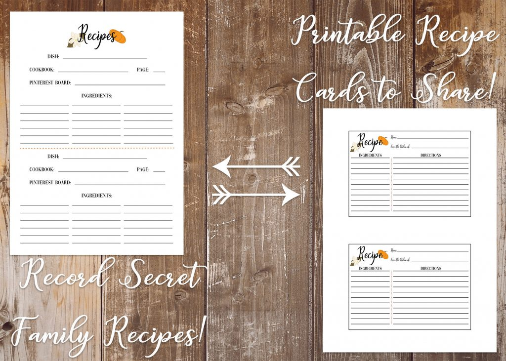 Gorgeous Printable Thanksgiving Planner with Southern Charm