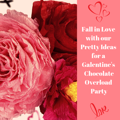 Chocolate Overload!  A DIY Women's Galentine's Meeting
