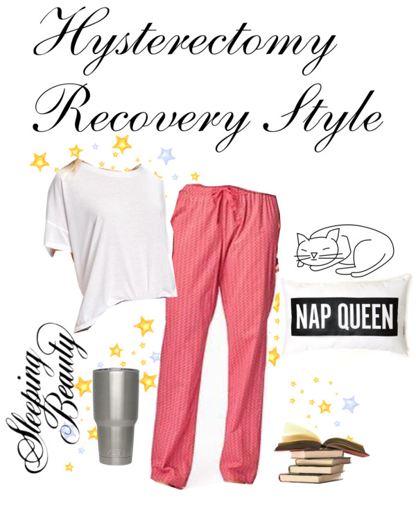 What do you wear after a hysterectomy?  Something super comfortable!  Tips for feeling comfortable after a hysterectomy.