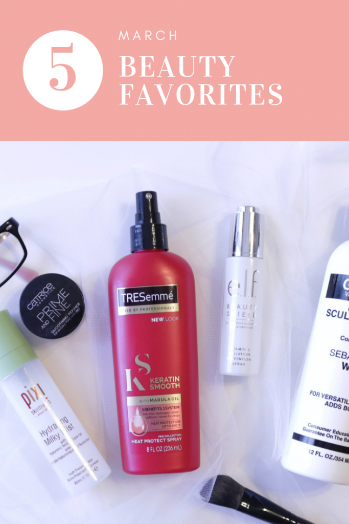 My new favorite things in skin and haircare.