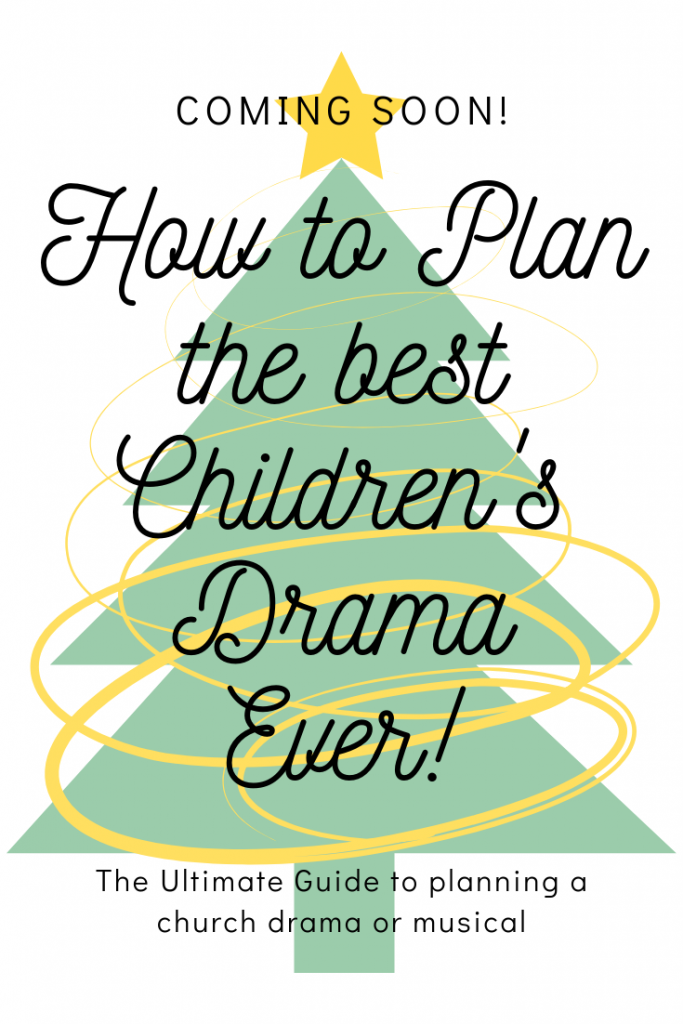 How to plan the best Children's Drama Ever Ebook.  How to hand practices, parents, tons of helpful worksheets and so much more!  #Christmas #planner #drama #ministry #children