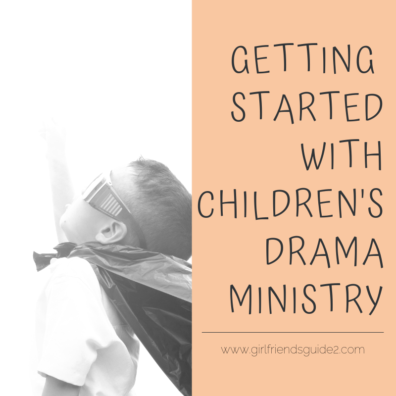 Getting started with Children's Drama Ministry. Tips and how to's to get your drama ministry started. #drama #ministry #children #kids #planner