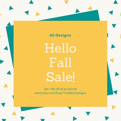 Hello Fall Sale!