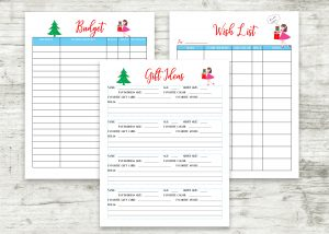 Black Friday Planner that's got everything you need to organize your holiday shopping.