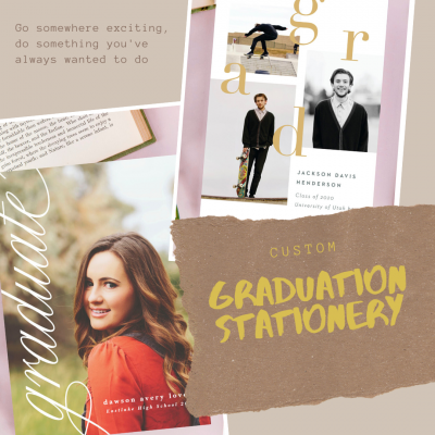 Custom Graduation Stationery