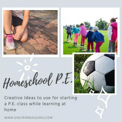 Creative Ideas for Homeschool P.E.