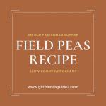 Field Peas Recipe