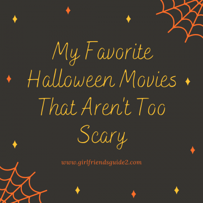 My Favorite Halloween Movies that aren't totally scary