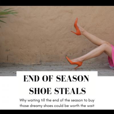 End of Season Shoe Steals