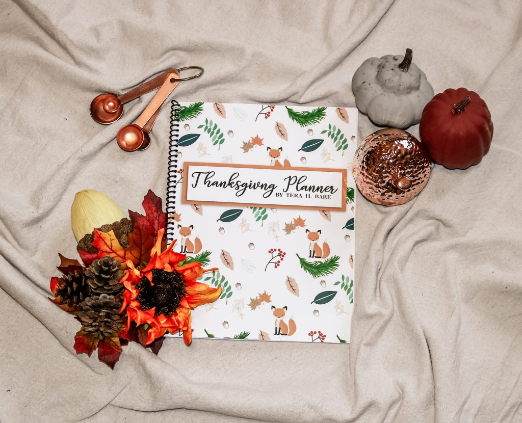 Woodland Thanksgiving Planner