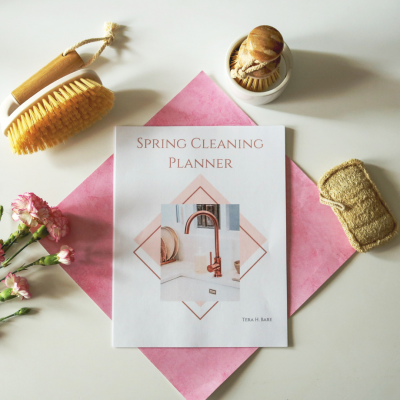 Spring Cleaning Ebook: Get Your Whole House Sparkling Clean