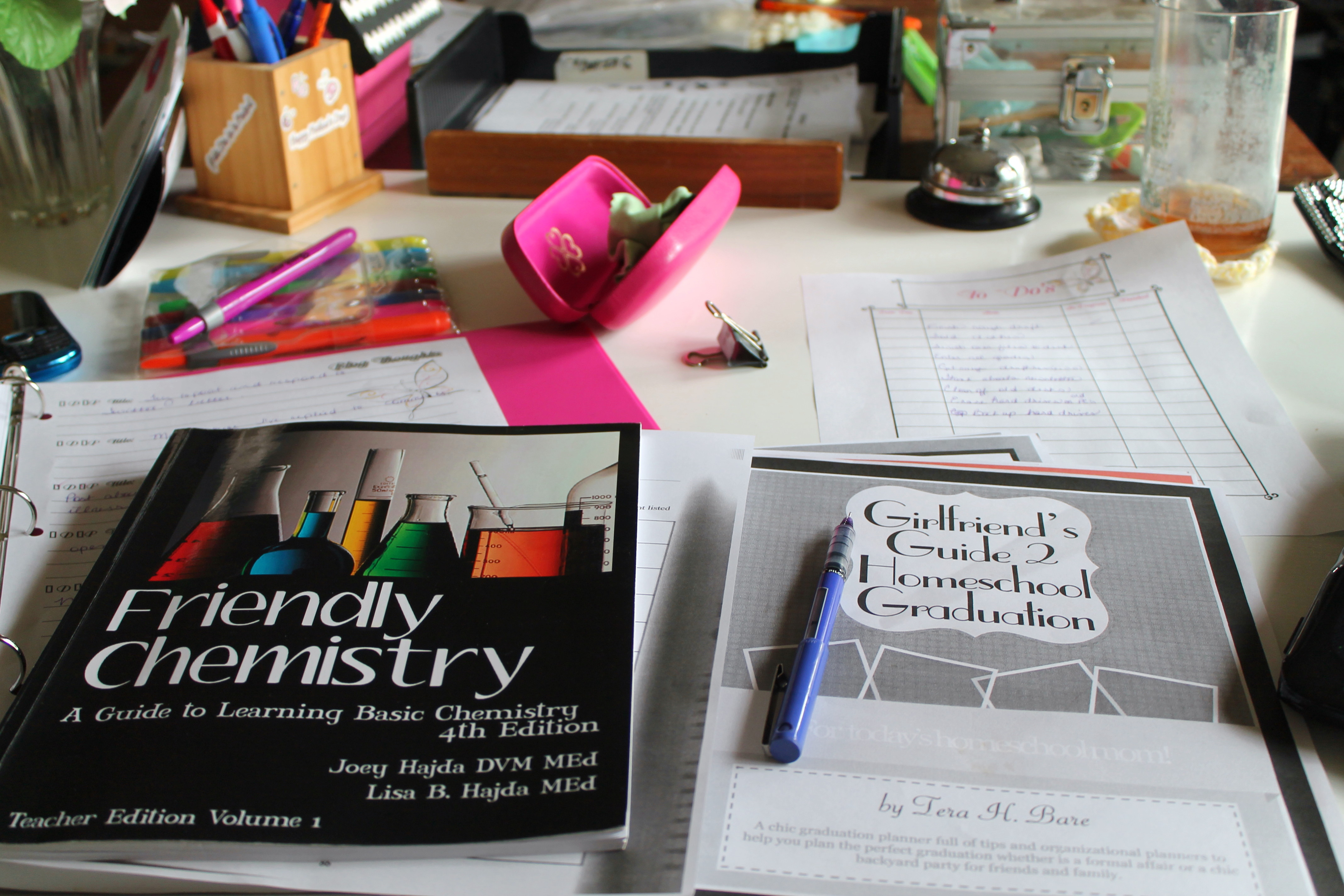 A Homeschooling, Blogging Mom's Work is Never Done