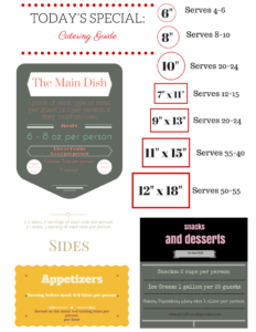 Free Printable Catering Guide