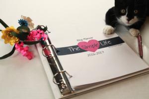 Simple Life Blog Planner