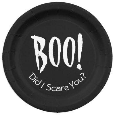 Adorable Halloween Paper Plates