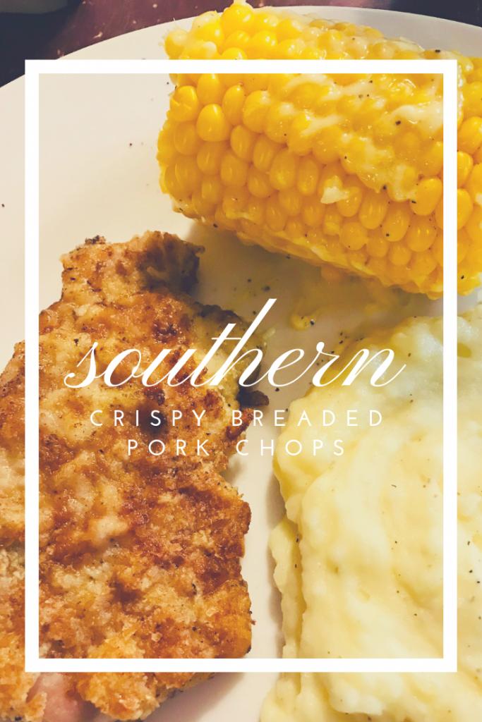 Crispy, Southern Breaded Pork Chops
