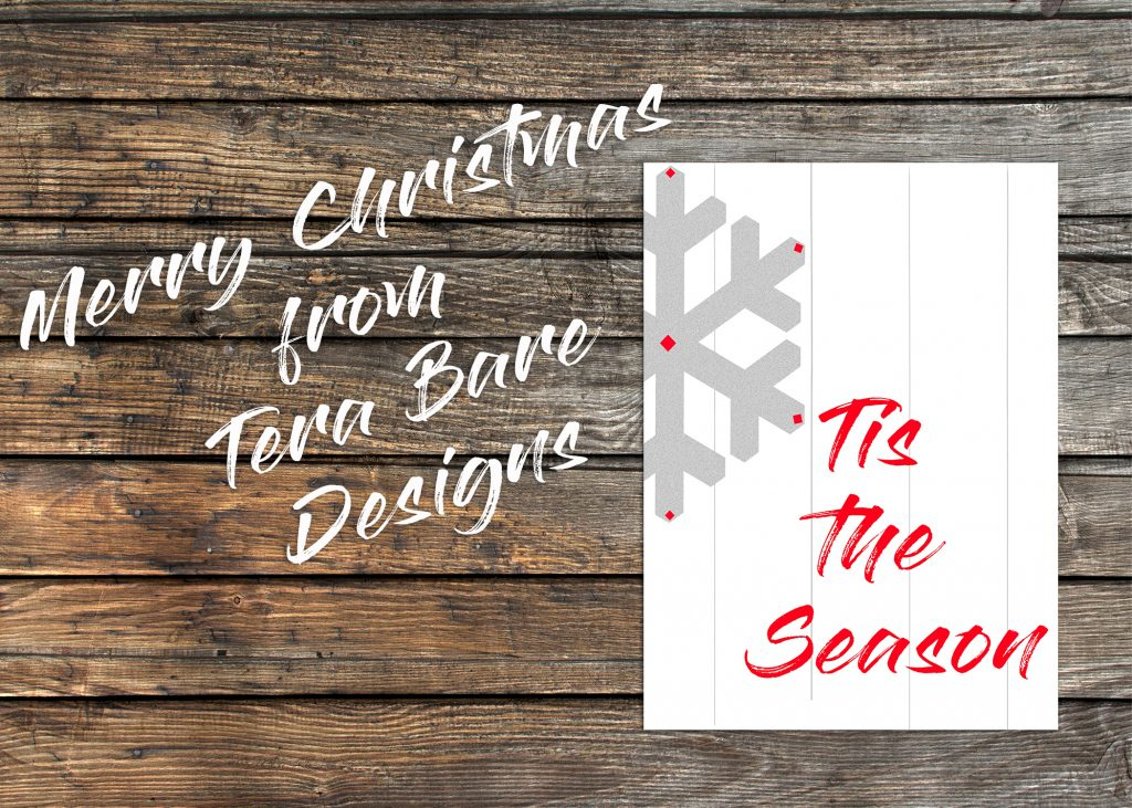 Your Christmas will be #organized with the 2018 Christmas planner by Tera Bare Designs. Merry Christmas!