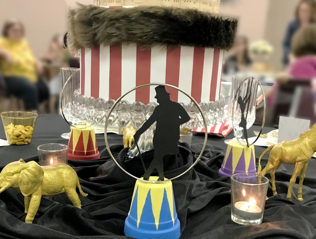 Greatest Showman Tablescape