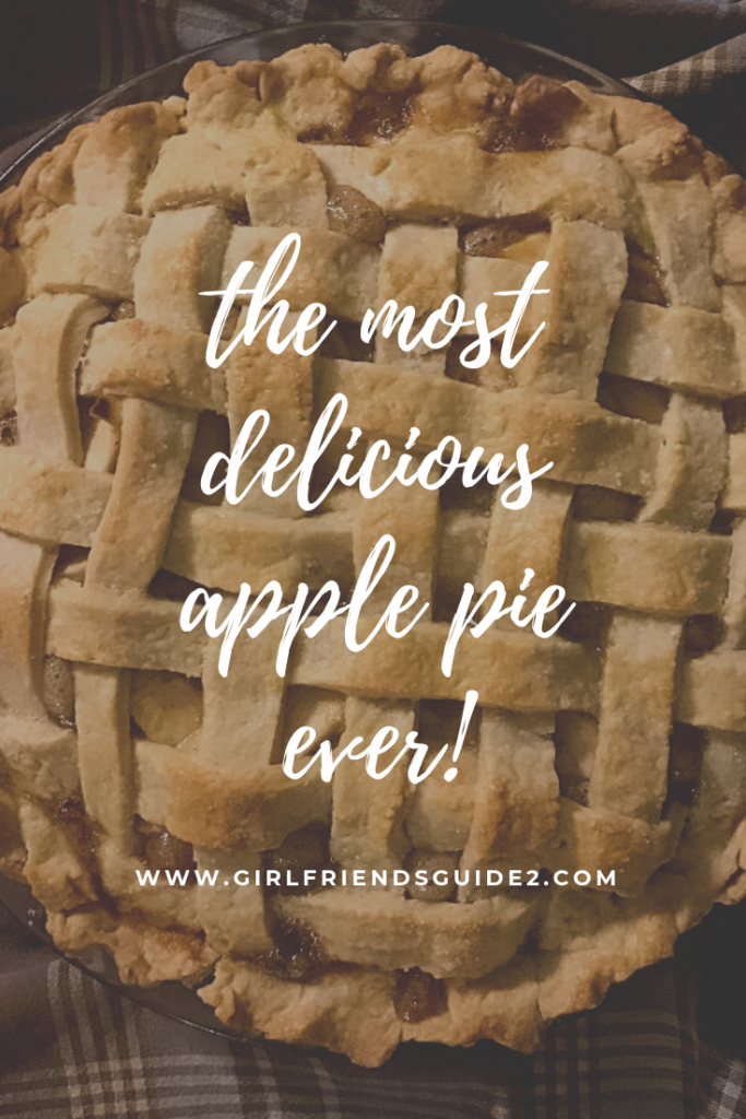 Easy and delicious apple pie recipe using Pink Lady and Granny Smith apples .
