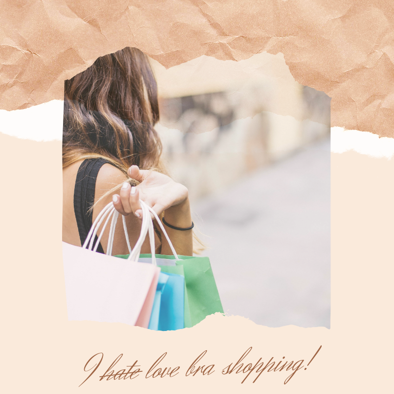 Anxiety and Bra Shopping:  How I let go of my anxiety