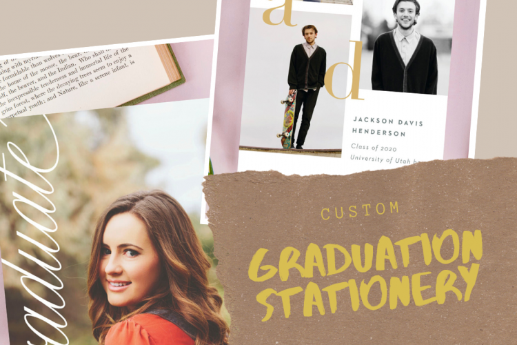 Custom Graduation Stationery a review of Basic Invite
