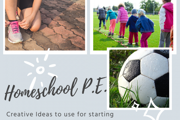 Creative Ideas for Homeschool P.E.