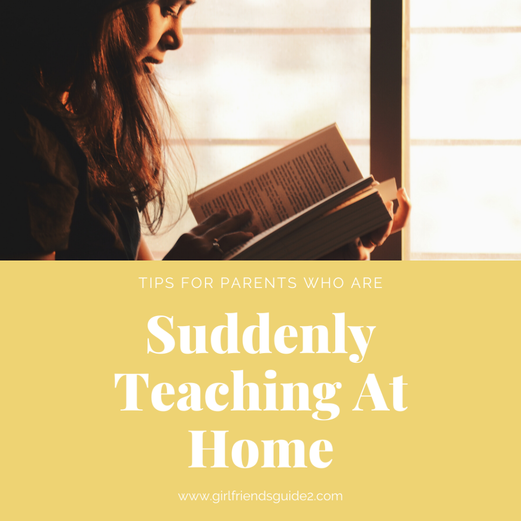Tips for parents suddenly teaching at home.
