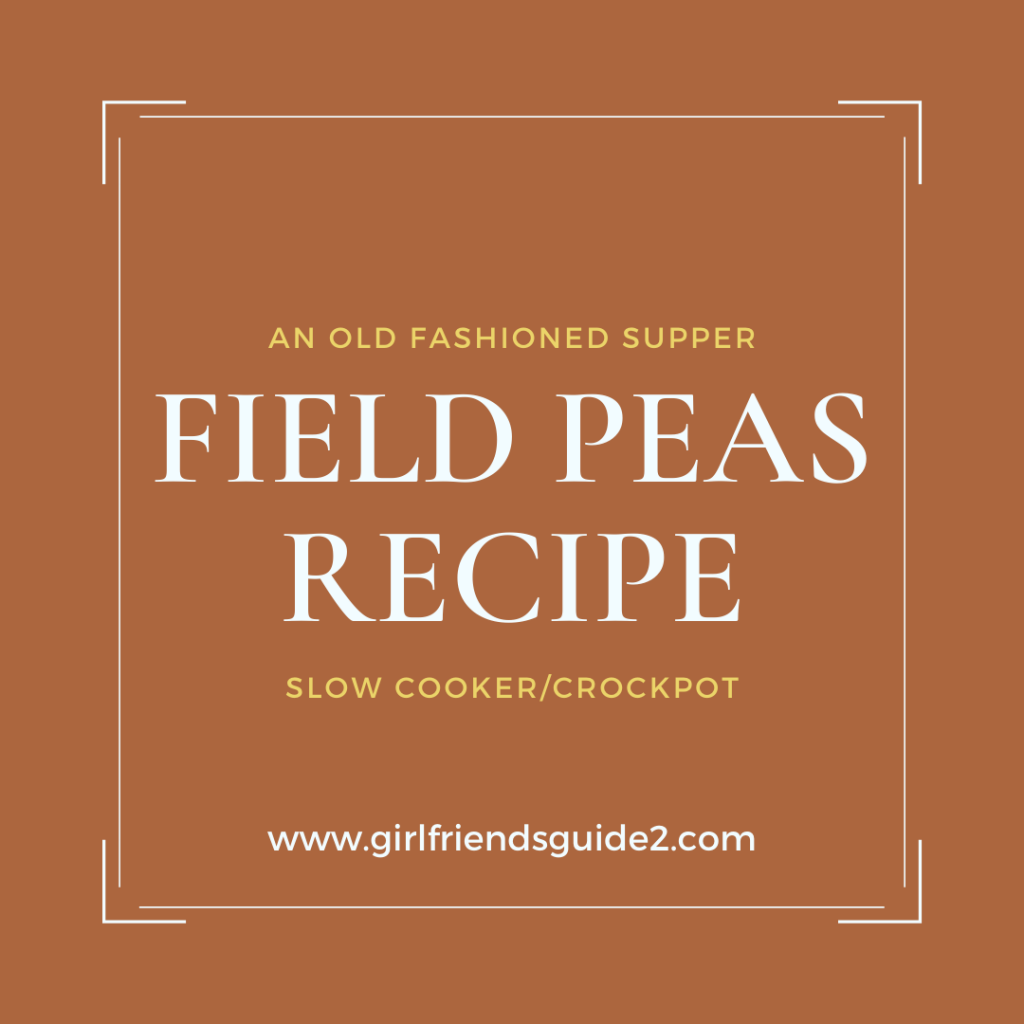 Field Peas Recipe