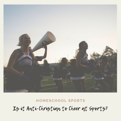Is it Anti-Christian to Cheer at Sports?