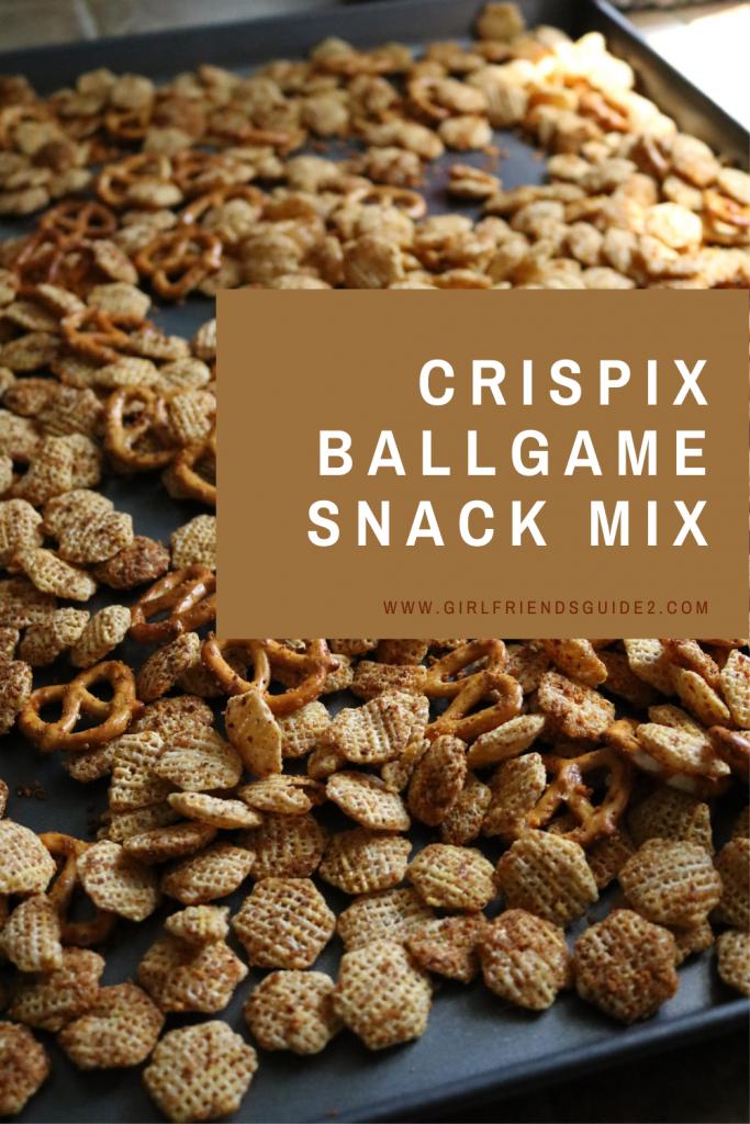 Crispix Ballgame Snack Mix