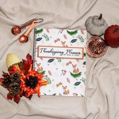 Woodland Thanksgiving Planner