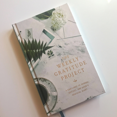 What I'm Reading:  The Weekly Gratitude Project