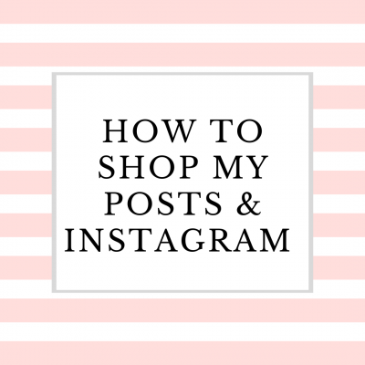 Wanna Learn how to Shop My Posts and Instagram?  Here's How!