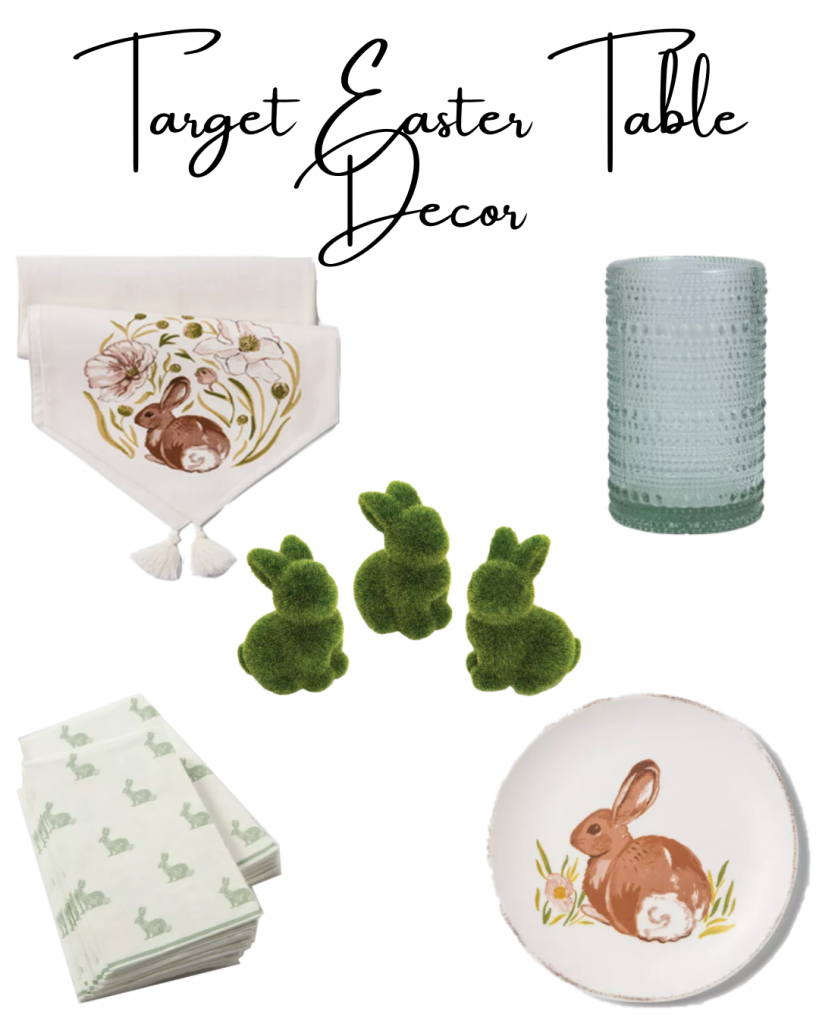 Target Easter Table Decor, Easter Tablescape, Target Easter Tablescape