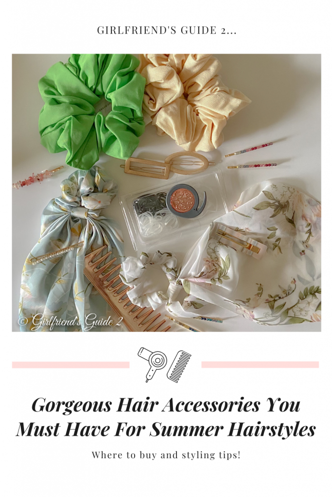 Gorgeous Hair Accessories You Must Have For Summer Hairstyles