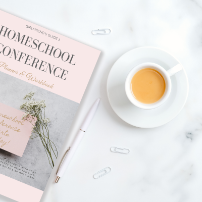 Homeschool Conferences Planner and Workbook