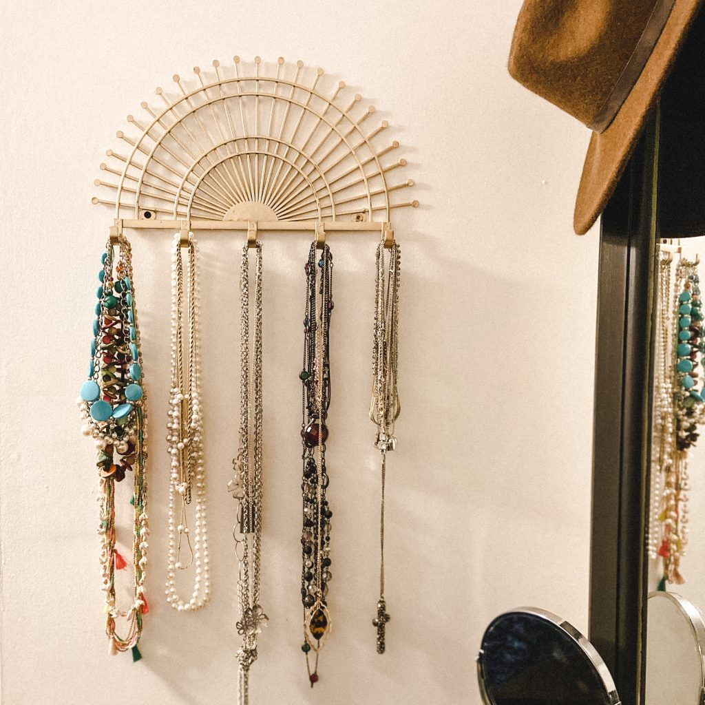 Pretty Boho Jewelry Organizers That Look Gorgeous on Your Wall