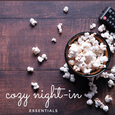 Affordable essentials for creating a cozy and relaxed night at home